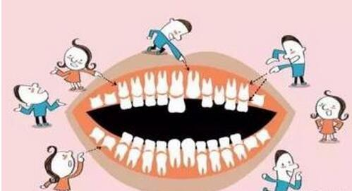 乳牙滞留拔牙的危害