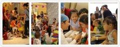 爱康健口腔携手早教品牌顺利举办儿童牙齿保健系列活动!