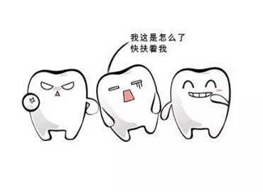 牙齿受外伤撞松动
