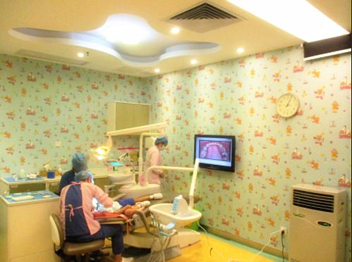 爱康健口腔医院儿牙诊室