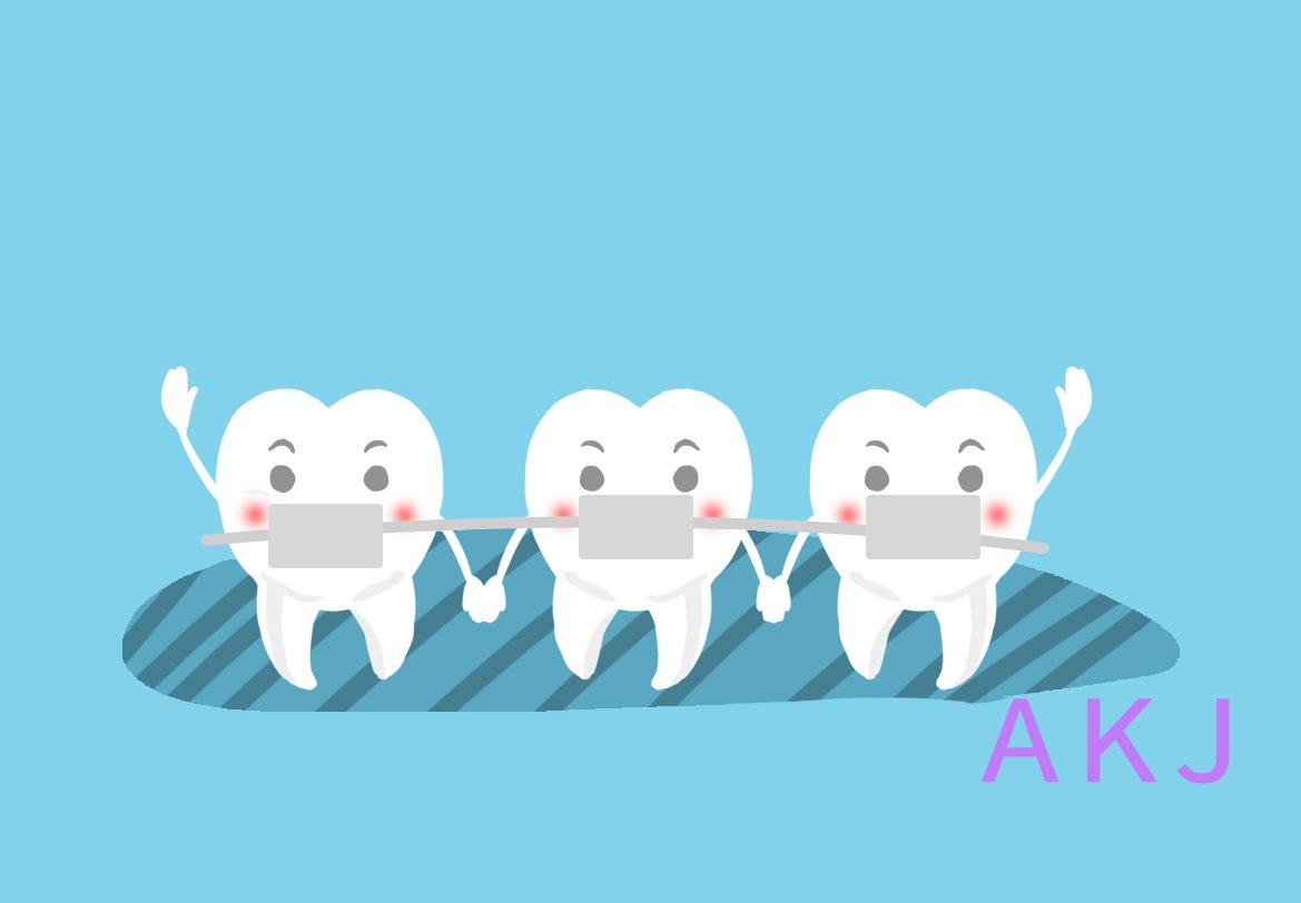 牙齿矫正和烤瓷牙