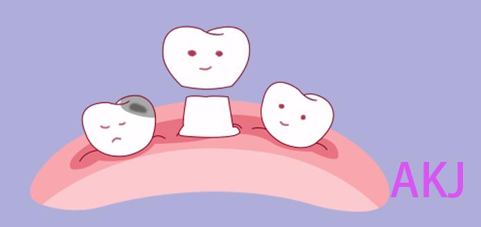 牙齿缺损做牙冠