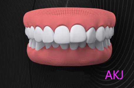 牙齿示意图片